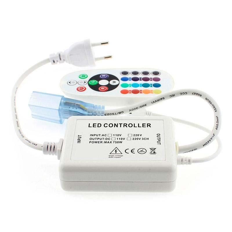 Controlador Bluethooth tira led 220V RGB 750W
